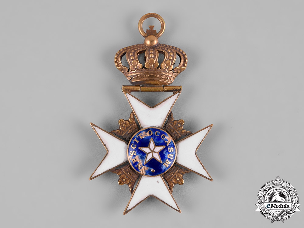 Sweden, Kingdom. An Order of the North Star in Gold, Knight, Type I, c.1840
