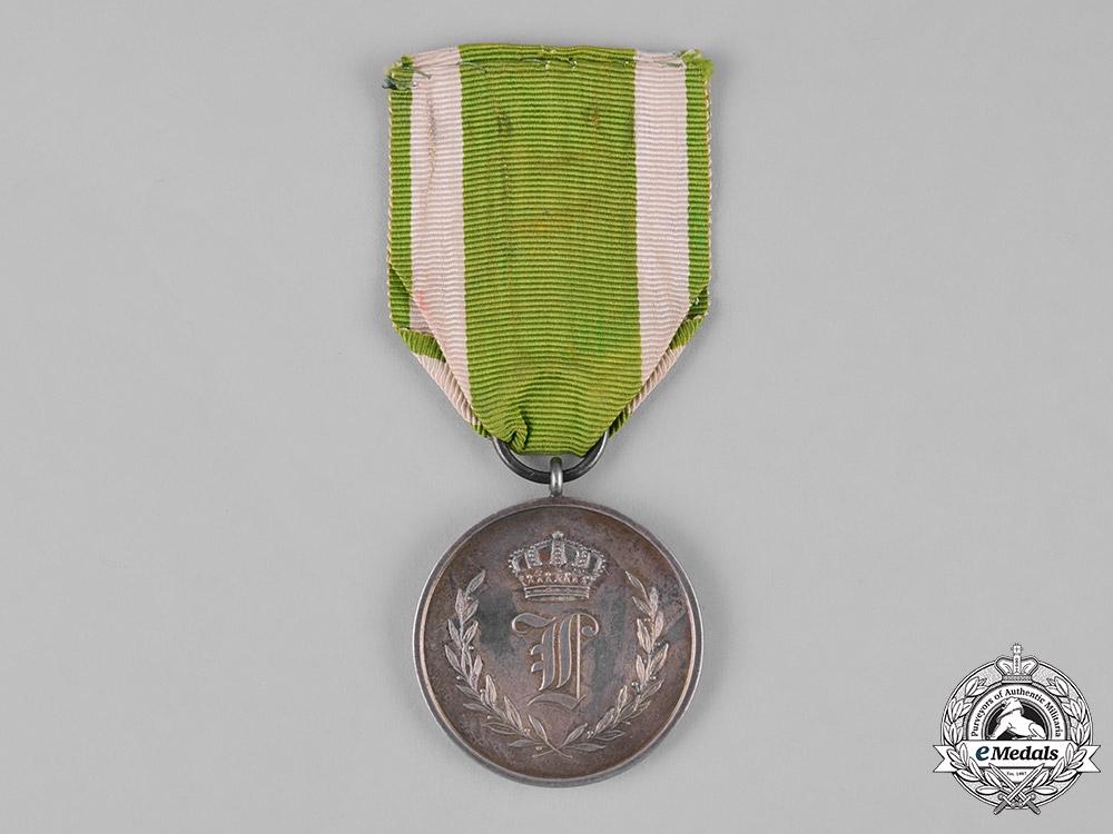 Anhalt, Duchy. A Medal for 50 Years of Faithful Service, c.1900
