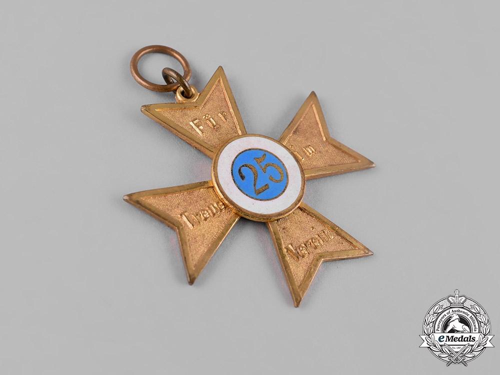 Germany, Weimar Republic. A Veterans Association 25-Year Membership Cross