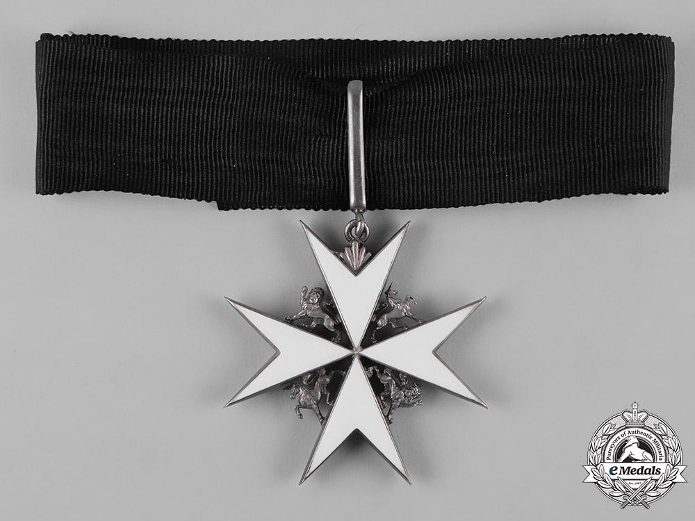 United Kingdom. A Most Venerable Order of the Hospital of Saint John of Jerusalem, Commander