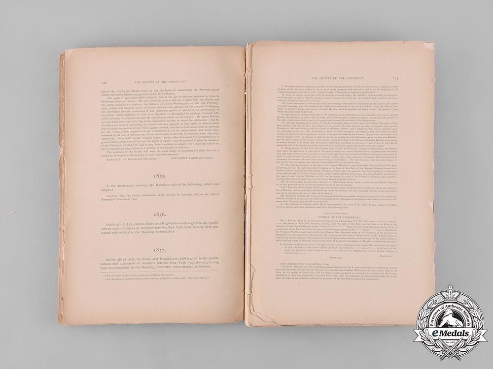 United States. The Society of the Cincinnati Meetings Transcript, by John Schuyler, c. 1886