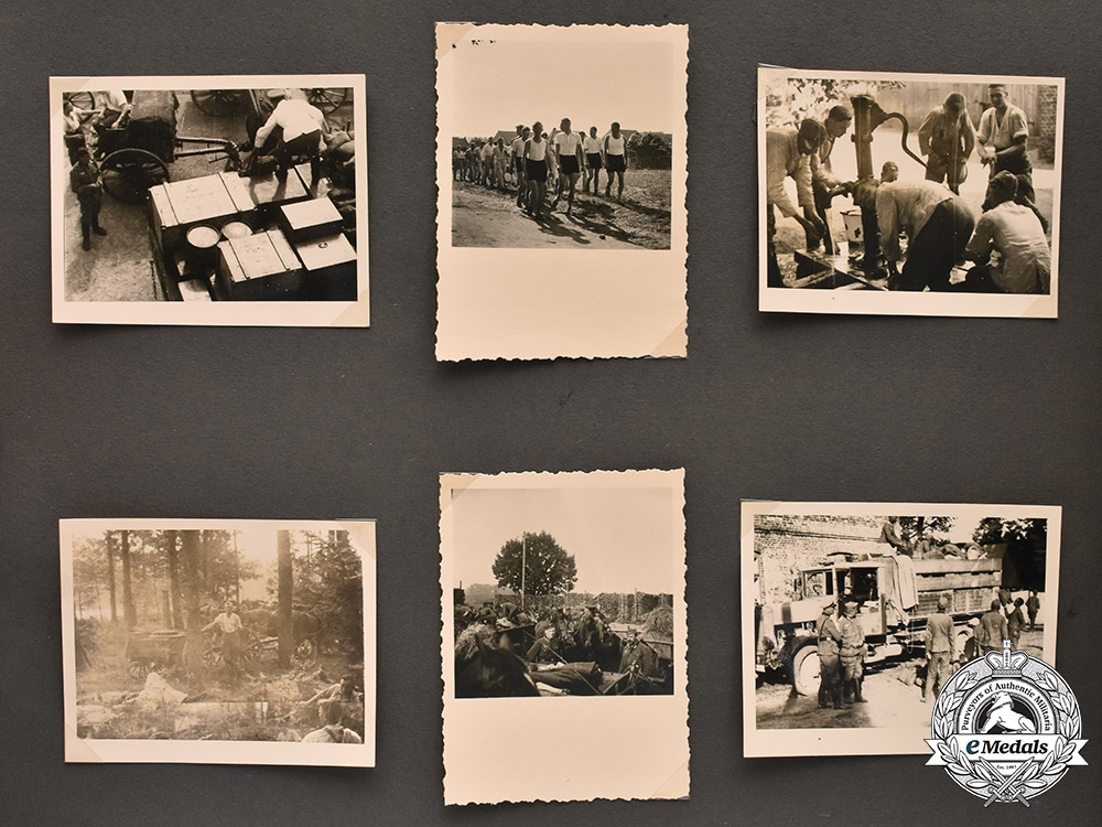 Germany, Heer. A Wartime Heer & Eastern Front Photo Album