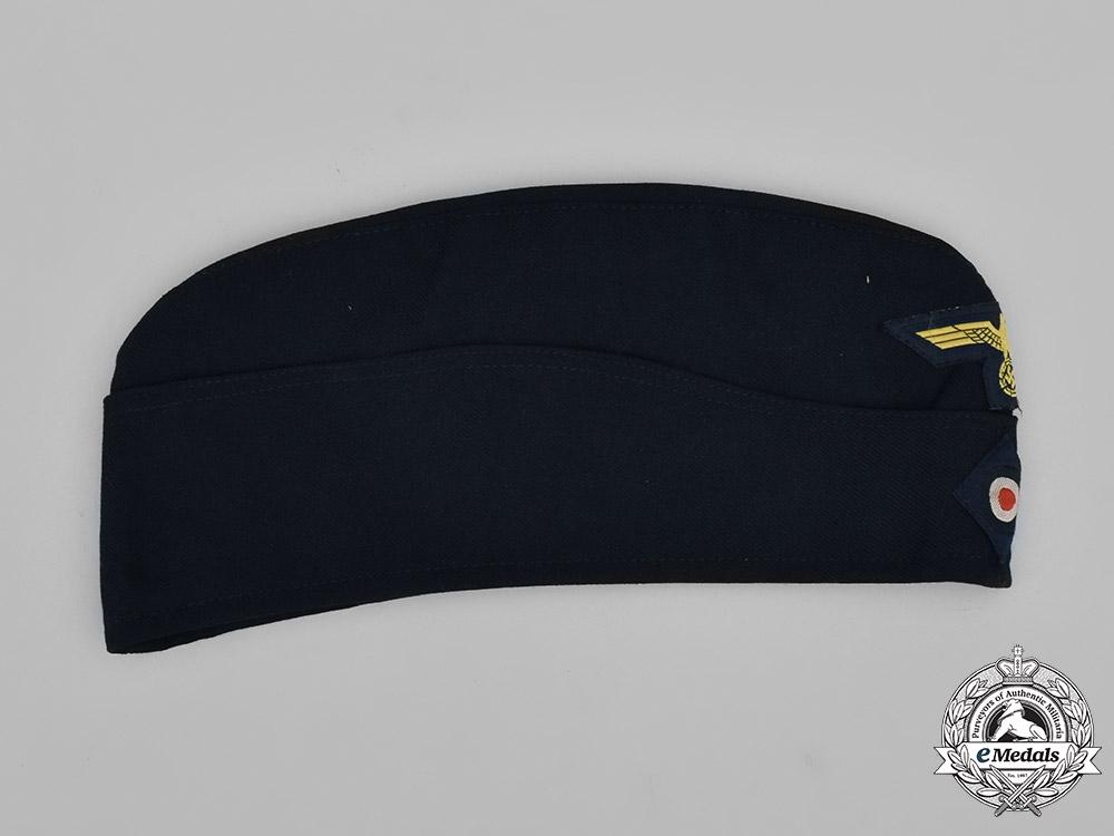Germany, Kriegsmarine. An EM/NCO Overseas Cap