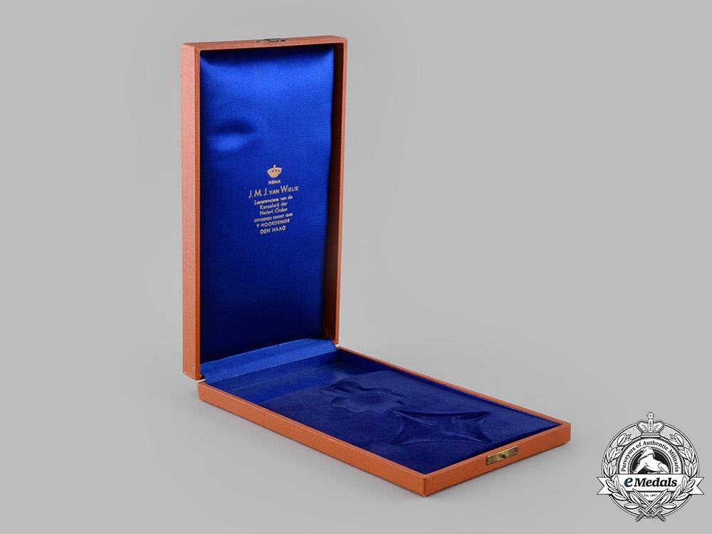 Netherlands, Kingdom. An Order of Orange-Nassau, II Class Grand Officer, Military Division Case