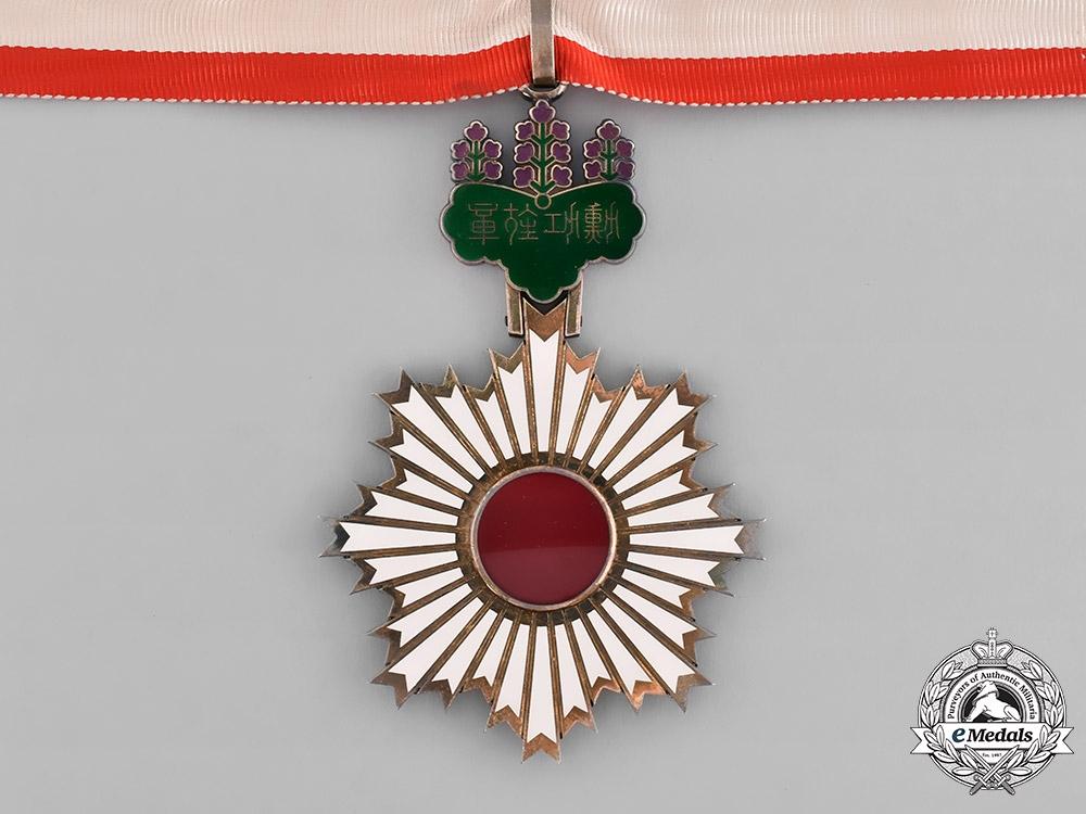 Japan, Empire. An Order of the Rising Sun, III Class Commander