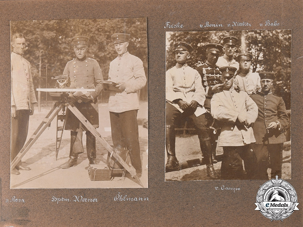 Germany, Imperial. A Unique & Rare Photo Album of Oberleutnant Karl Abt, with von Richthofen
