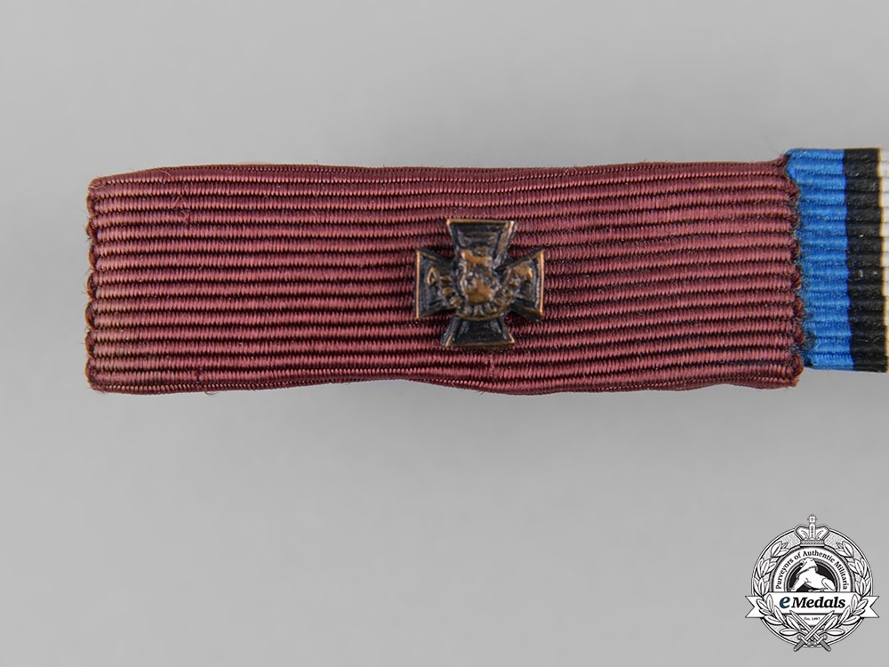 United Kingdom. A Victoria Cross Ribbon Bar, c.1918