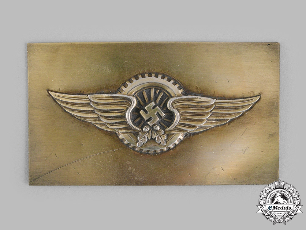 Germany, Wehrmacht. A Supply Troops Proficiency Clasp Prototype by Willy Kürschner