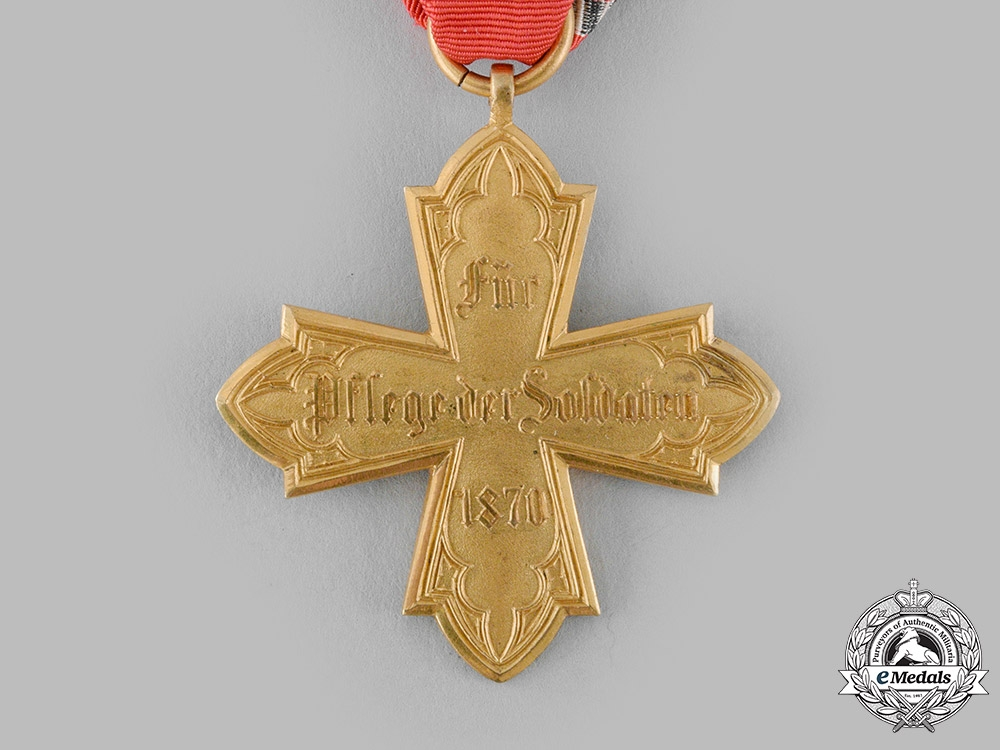 Hesse, Grand Duchy. A Military Medical Cross 1870/71