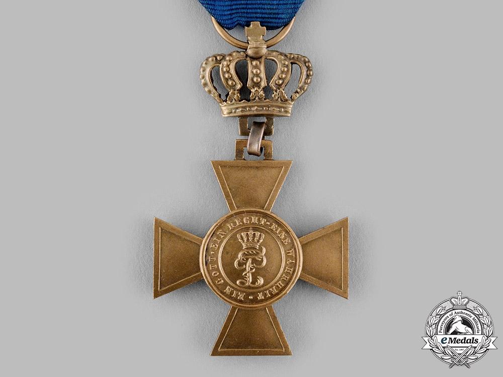Oldenburg, Grand Duchy. A House and Merit Order Honour Cross, I Class