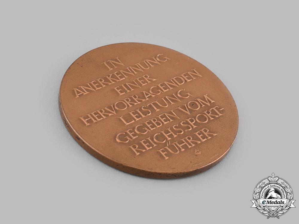 Germany, Third Reich. A Reichssportführer Proficiency Medal by L. Christian Lauer