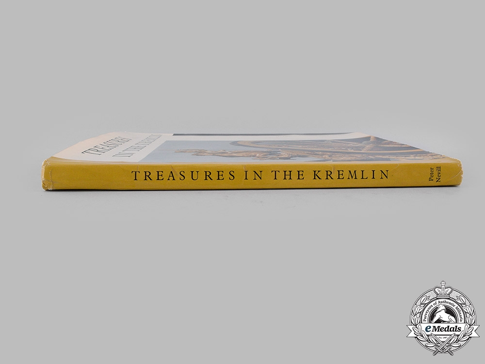 Russia, Imperial. Treasures in the Kremlin, by Peter Nevill, c. 1962