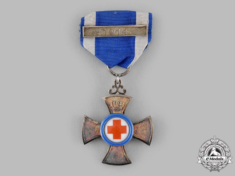 Bavaria, Kingdom. A Merit Cross for Volunteer Nurses with 1914 Clasp, c.1914