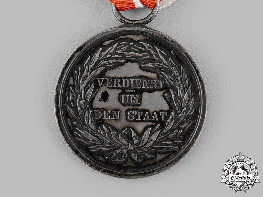Prussia, Kingdom. A General Honour Medal, II Class, with Case, c.1910