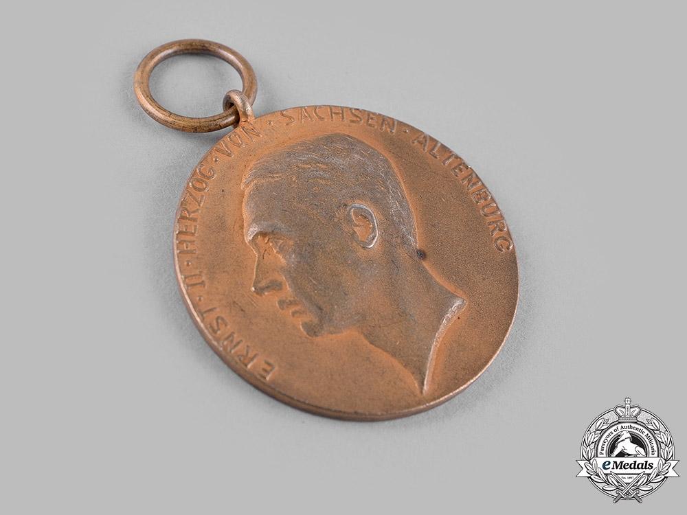 Saxe-Altenburg, Duchy. An Arts and Science Medal, Gold Grade