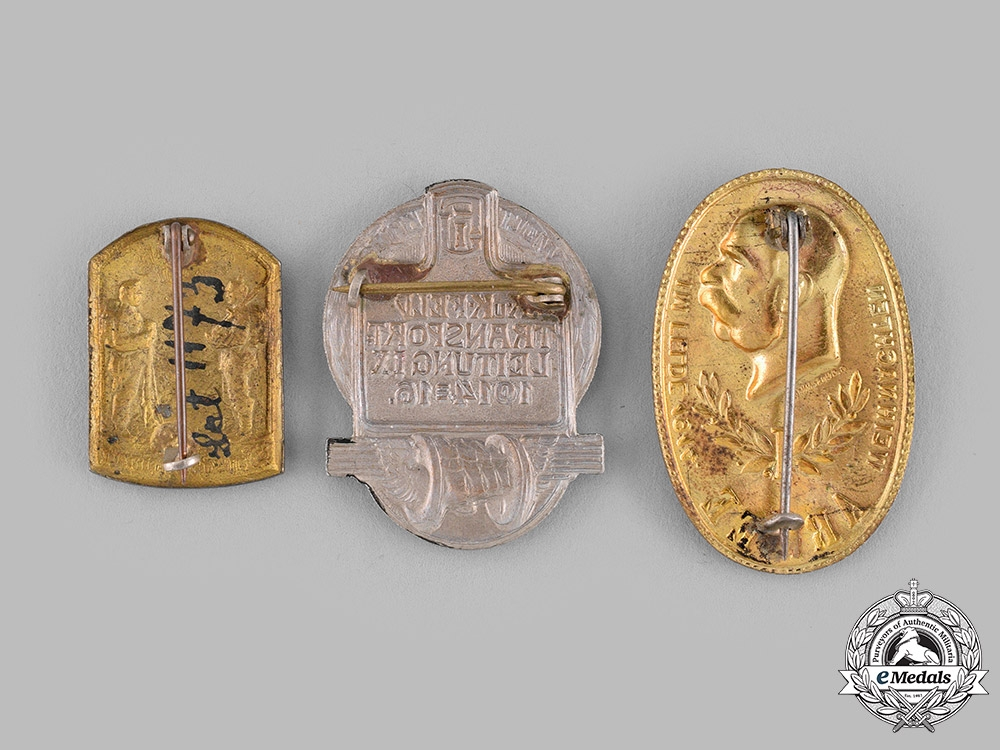 Austria-Hungary, Empire. A Lot of Austro-Hungarian Cap Badges