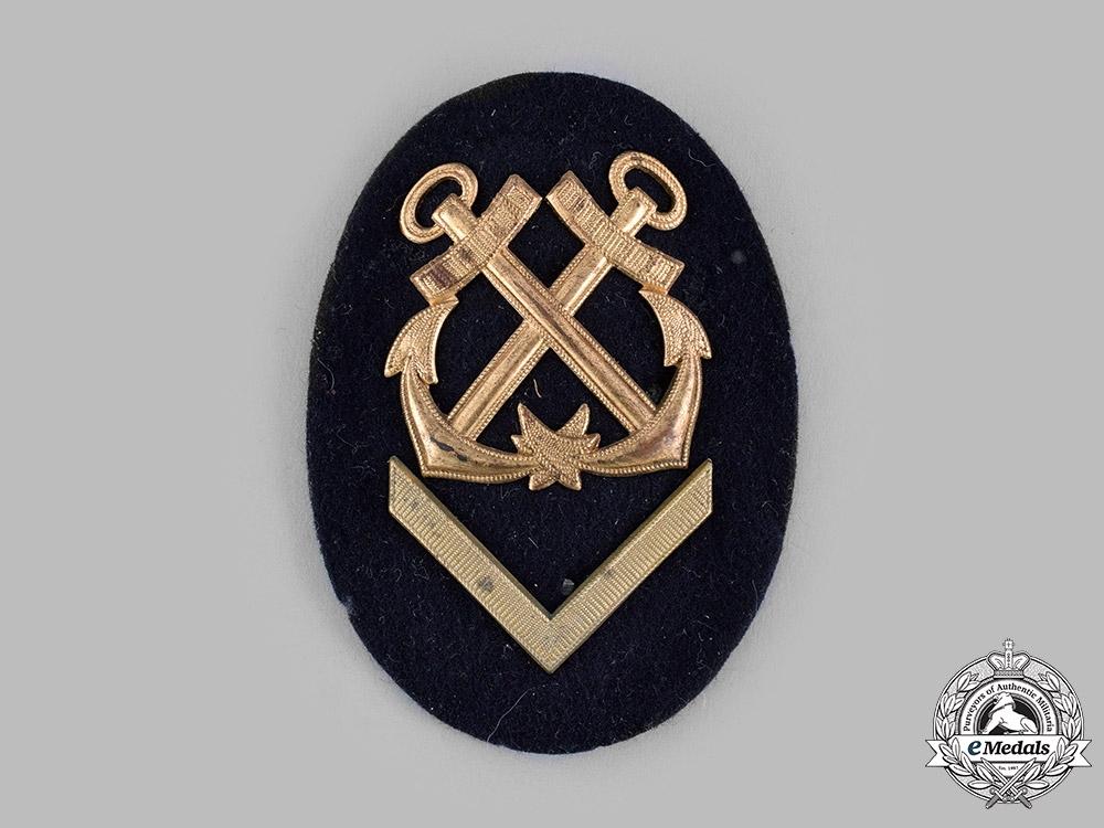 Germany, Kriegsmarine. An EM/NCO Helmsman's Specialist Insignia