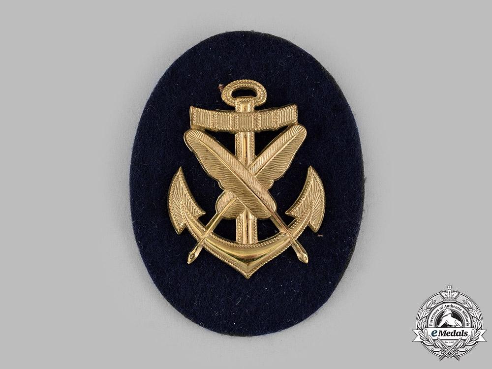 Germany, Kriegsmarine. An EM/NCO Clerical Specialist Insignia