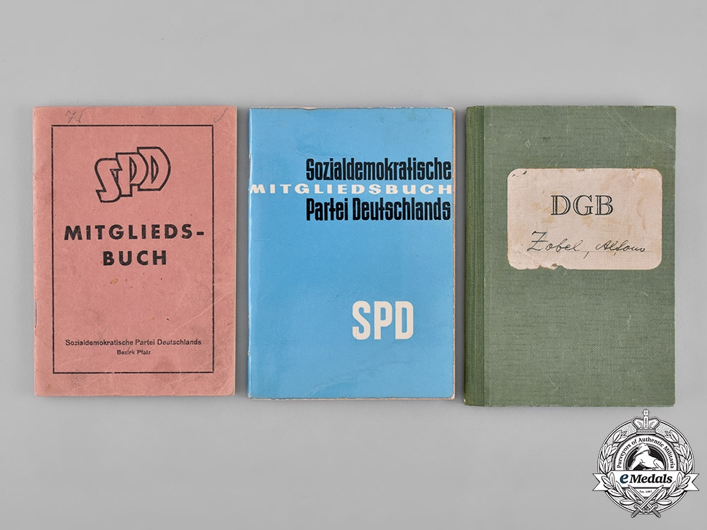 Germany, Third Reich. A Collection of Documents to Gefreiter Alfons Zobel, POW