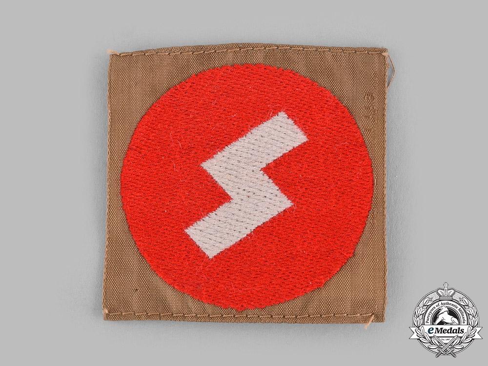 Germany, DJ. A Deutsches Jungvolk (DJ) General Membership Sleeve Badge