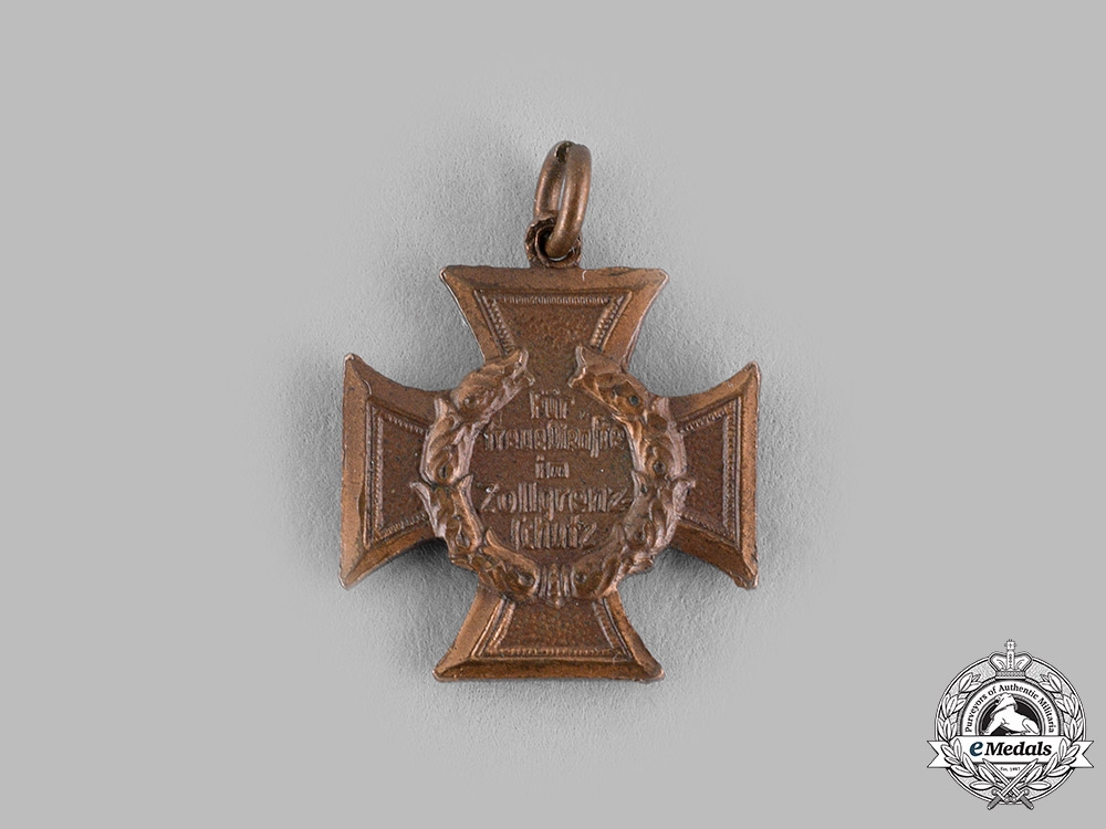Germany, Third Reich. A Customs and Border Protection Honour Badge Miniature