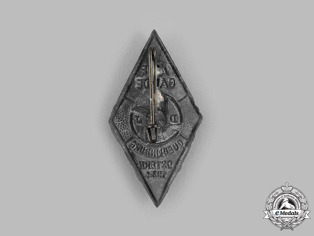 Germany, DJ. A 1934 Deutsches Jungvolk (DJ) Easter Badge