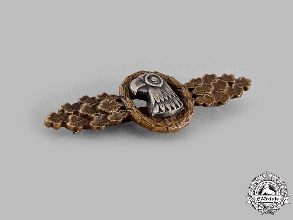 Germany, Luftwaffe. A Reconnaissance Unit Squadron Clasp, Bronze Grade
