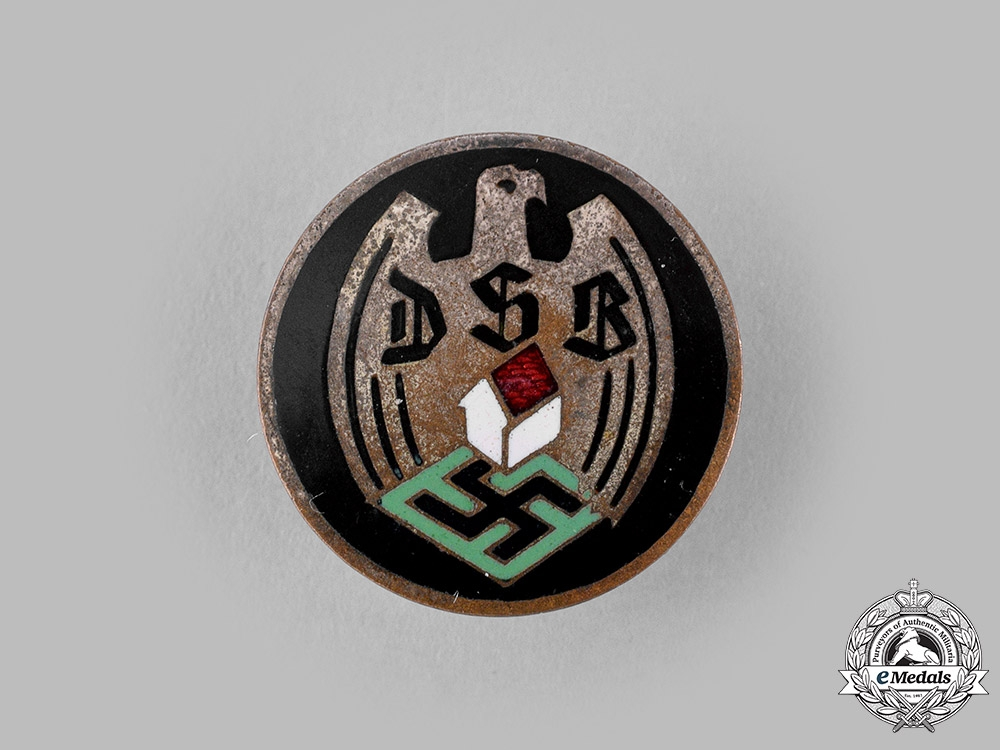 Germany, DSB. A German Settlement Organization (DSB) Membership Badge