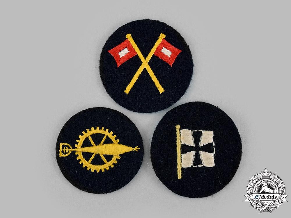 Germany, Kriegsmarine. A Lot of Specialist Uniform Sleeve Insignia