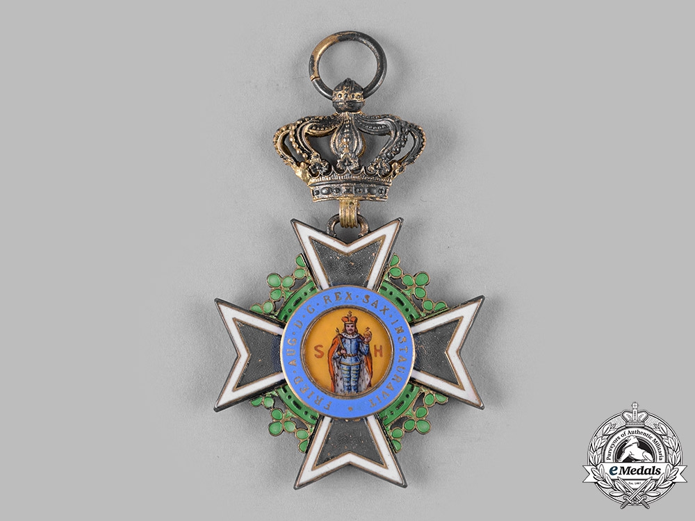 Saxony, Kingdom. An Order of St. Henry, Knight (Collectors Copy)