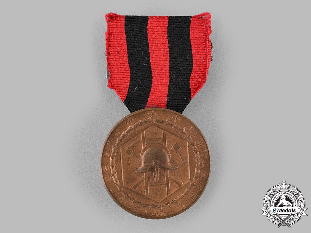 Württemberg, Kingdom. A Fire Brigade 25-Year Long Service Medal