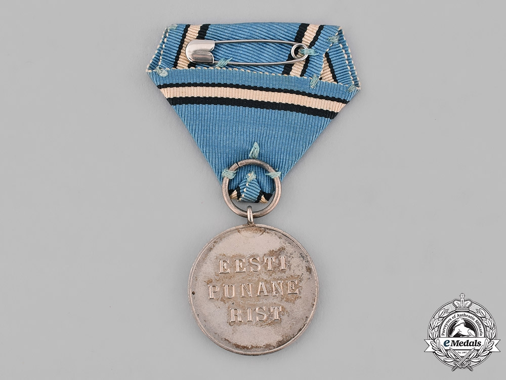 Estonia, Republic. A Medal of the Estonian Red Cross with Case, by Roman Tavast