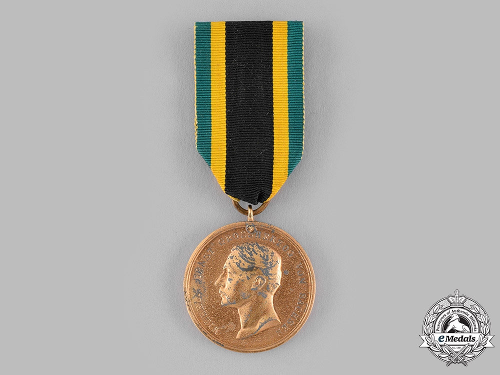 Saxe-Weimar, Grand Duchy. A General Honour Decoration 1914, Gold Grade