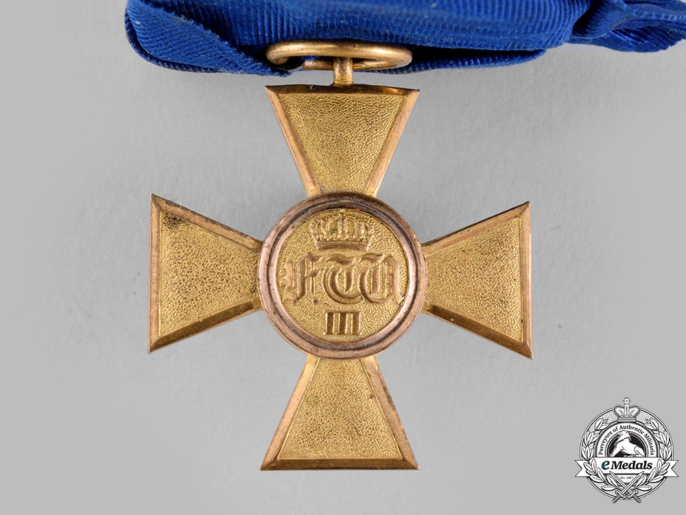 Prussia, Kingdom. An Officer's 25-Year Long Service Cross, c.1900