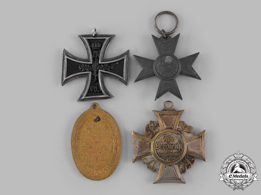 Germany. A Lot of Four Imperial Medals