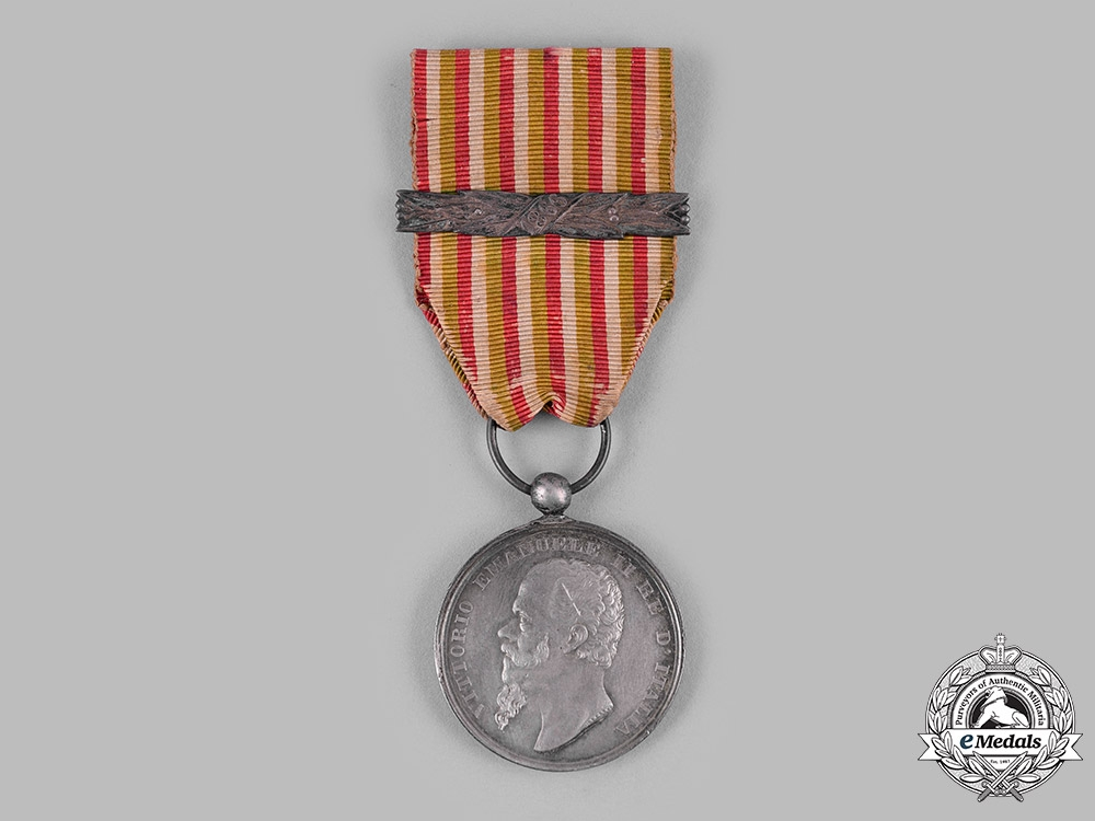 Italy, Kingdom. A Medal for the Italian Independence Wars & Unification, CANZANI