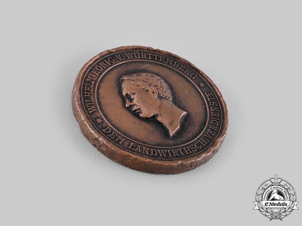 Württemberg, Kingdom. A Medal for Agricultural Merit