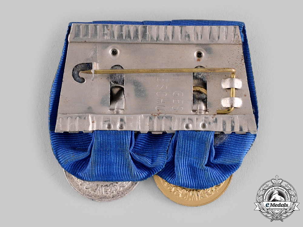 Germany, Wehrmacht. A Long Service Medal Bar