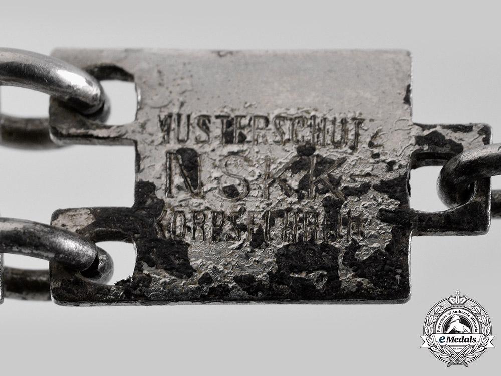 Germany, NSKK. A Gruppe Berlin-Brandenburg Chained Leader's Dagger, by Haco