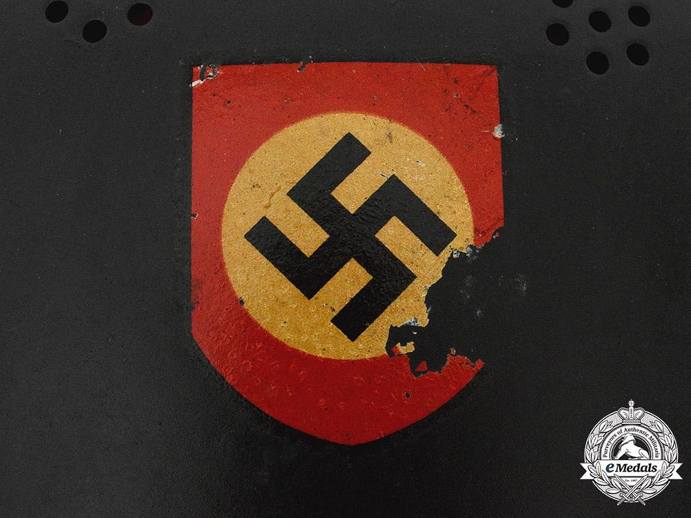 Germany, Ordnungspolizei. A Civil Police M34 Steel Helmet