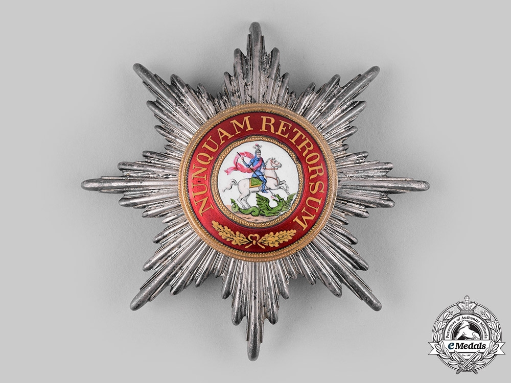 Hanover, Kingdom. An Order of St. George, Grand Cross Star (Collectors Copy)