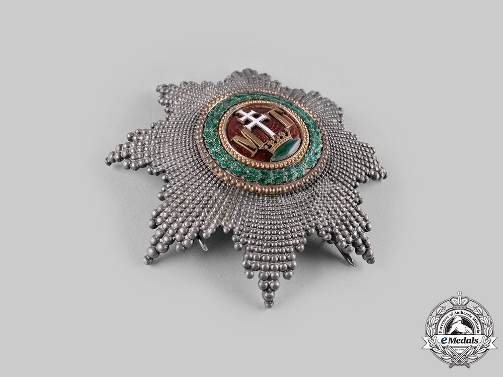 Austria, Imperial. An Order of St. Stephen, Grand Cross Star (Collectors Copy)