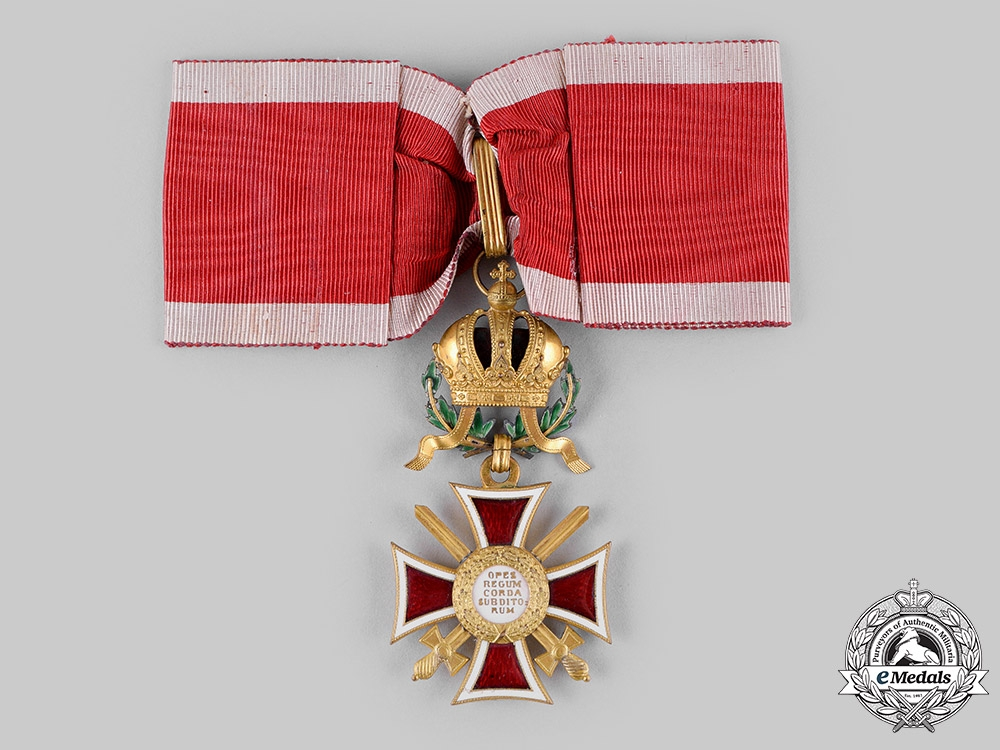 Austria, Imperial. An Order of Leopold, Commander Cross, with Swords and War Decoration (Rothe Copy)