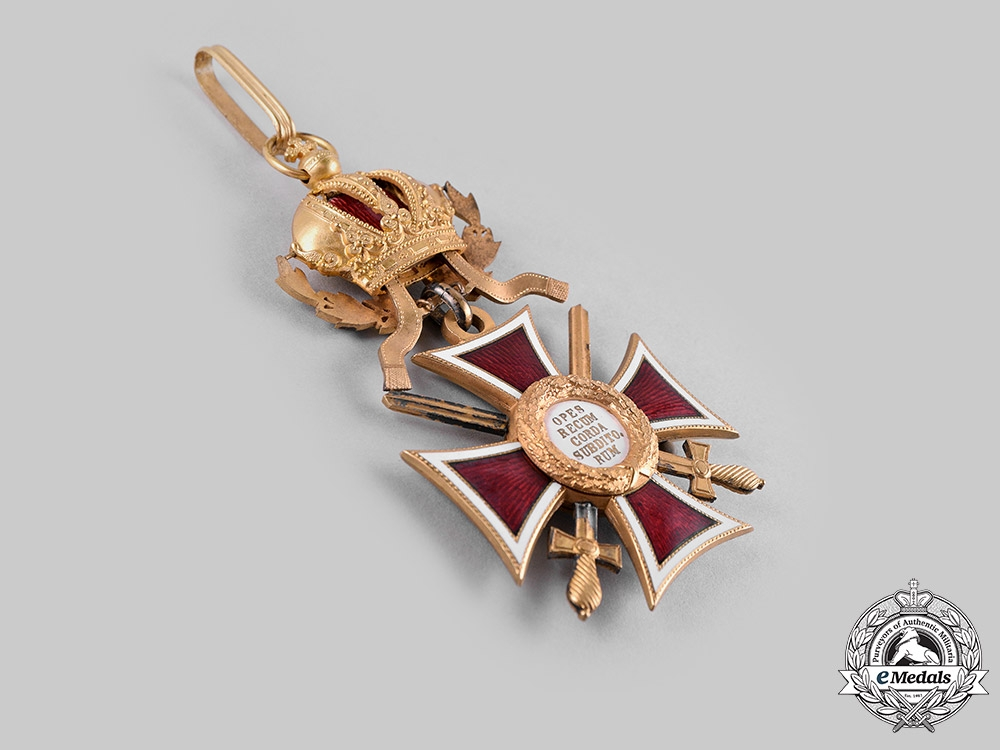 Austria, Imperial. An Order of Leopold, Grand Cross with Swords & War Decoration (Rothe Copy)