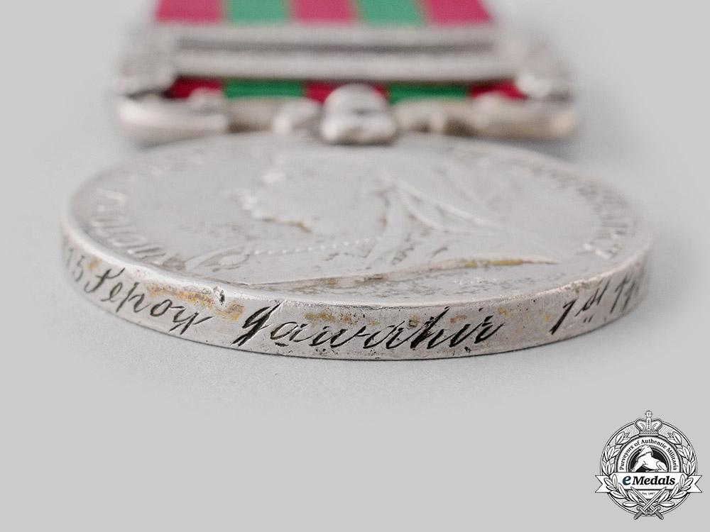 United Kingdom. An India Medal 1895-1902, 1st Punjab Infantry