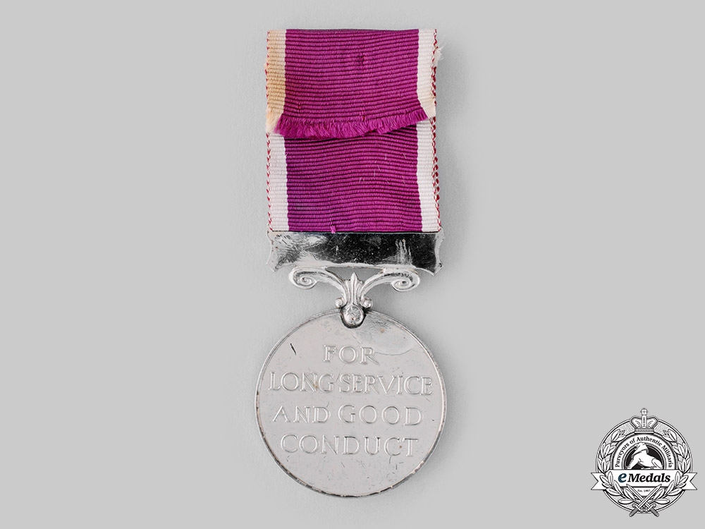 United Kingdom. An Army Long Service and Good Conduct Medal with New Zealand Bar, Unnamed