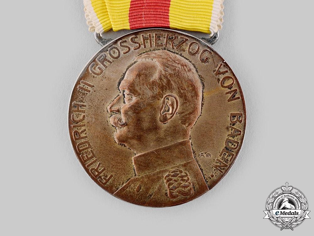 Baden, Grand Duchy. A Friedrich II Merit Medal, Gold Grade