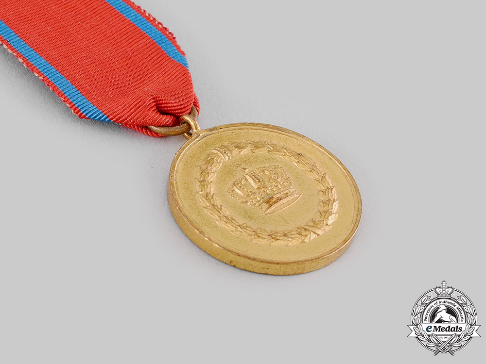 Württemberg, Kingdom. A Long Service Medal, II Class, for 12 Years