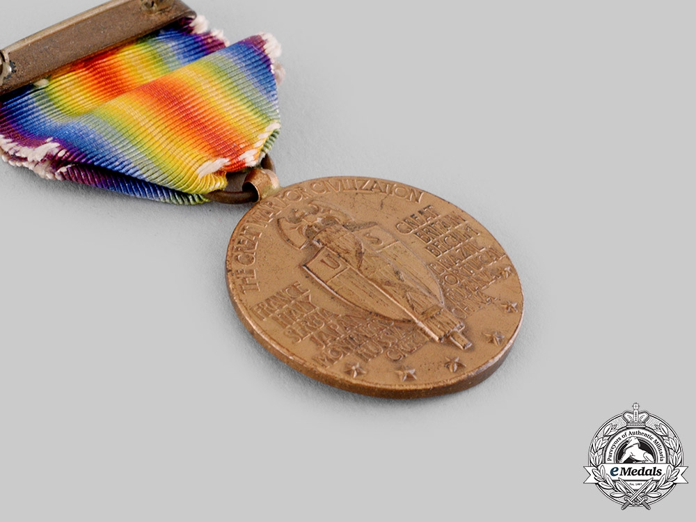 United States. A Victory Medal, with Presentation Case, by The Art Metal Works