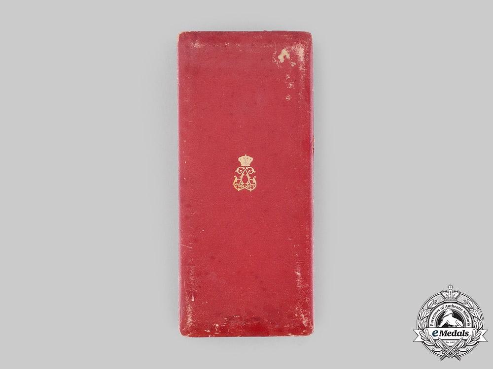 Belgium, Kingdom. An Order of Leopold, I Class Grand Cross Case, by J. Fonson